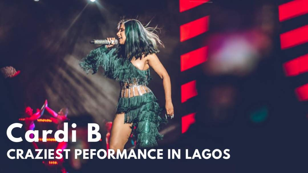 Cardi B delivered the Craziest and an Electrifying Performance over the Weekend
