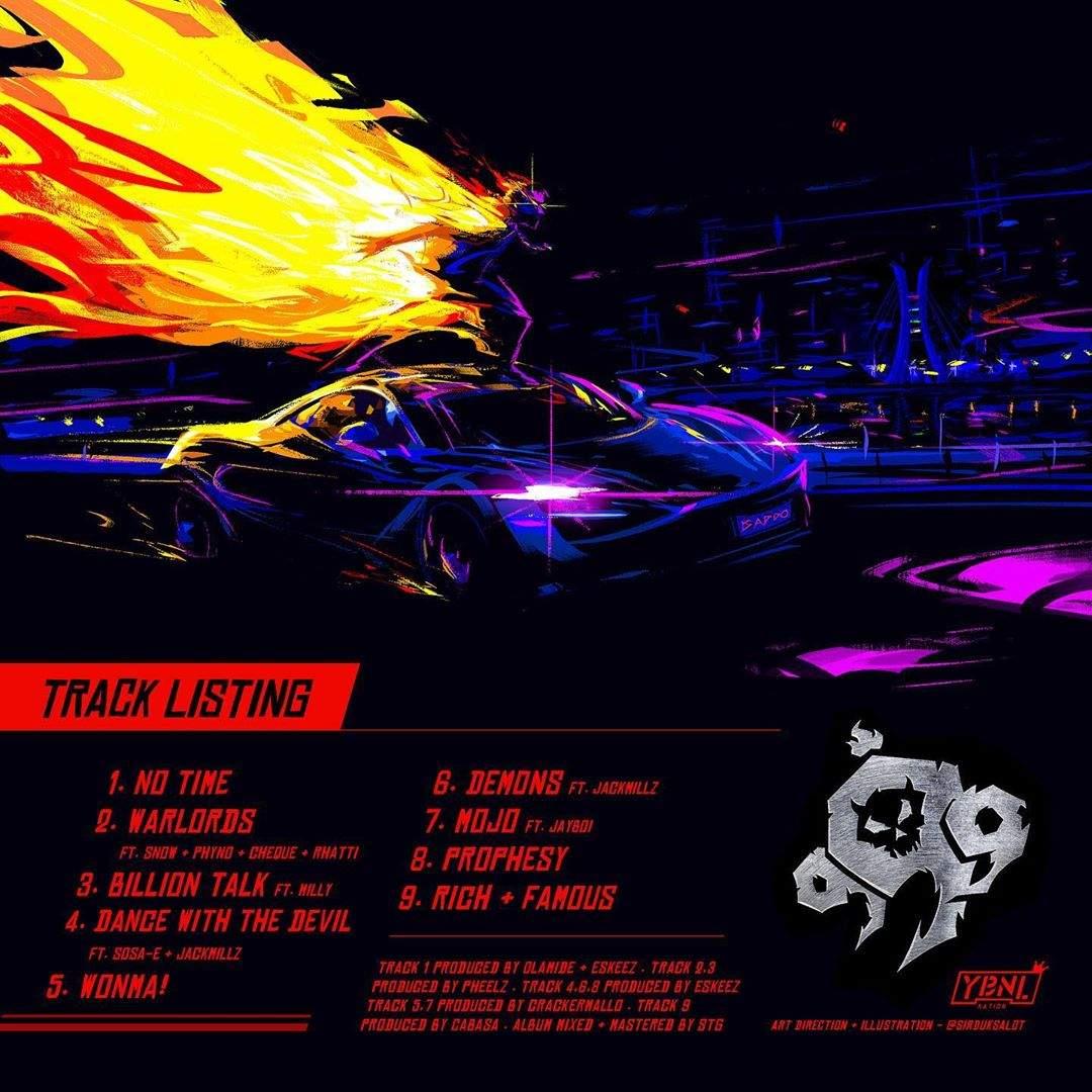 Olamide 999 Tracklist