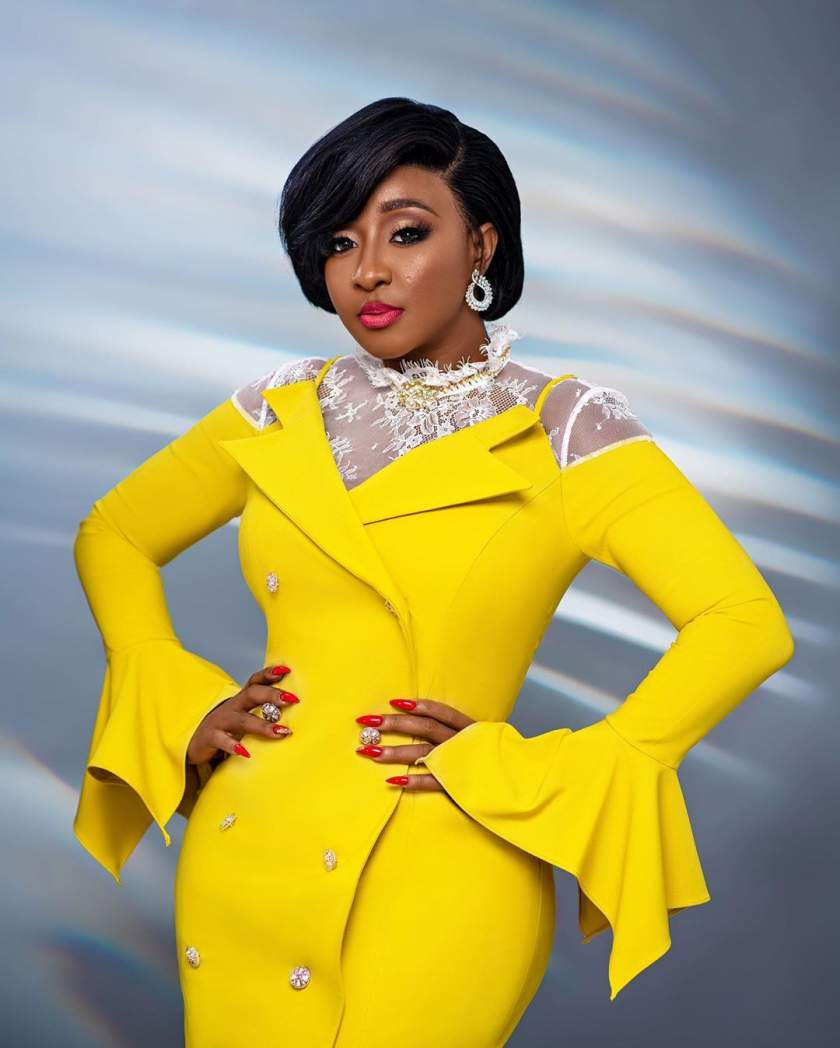 Something to Brighten Your Friday: Ini Edo & Her Colourful Snap