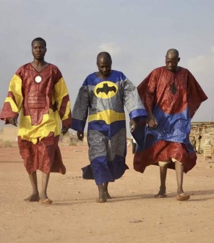 Nigerian Superheroes