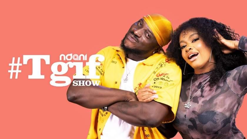 Peruzzi & Liya make a Hilarious Pair on this Episode of Ndani TGIF Show (Watch)