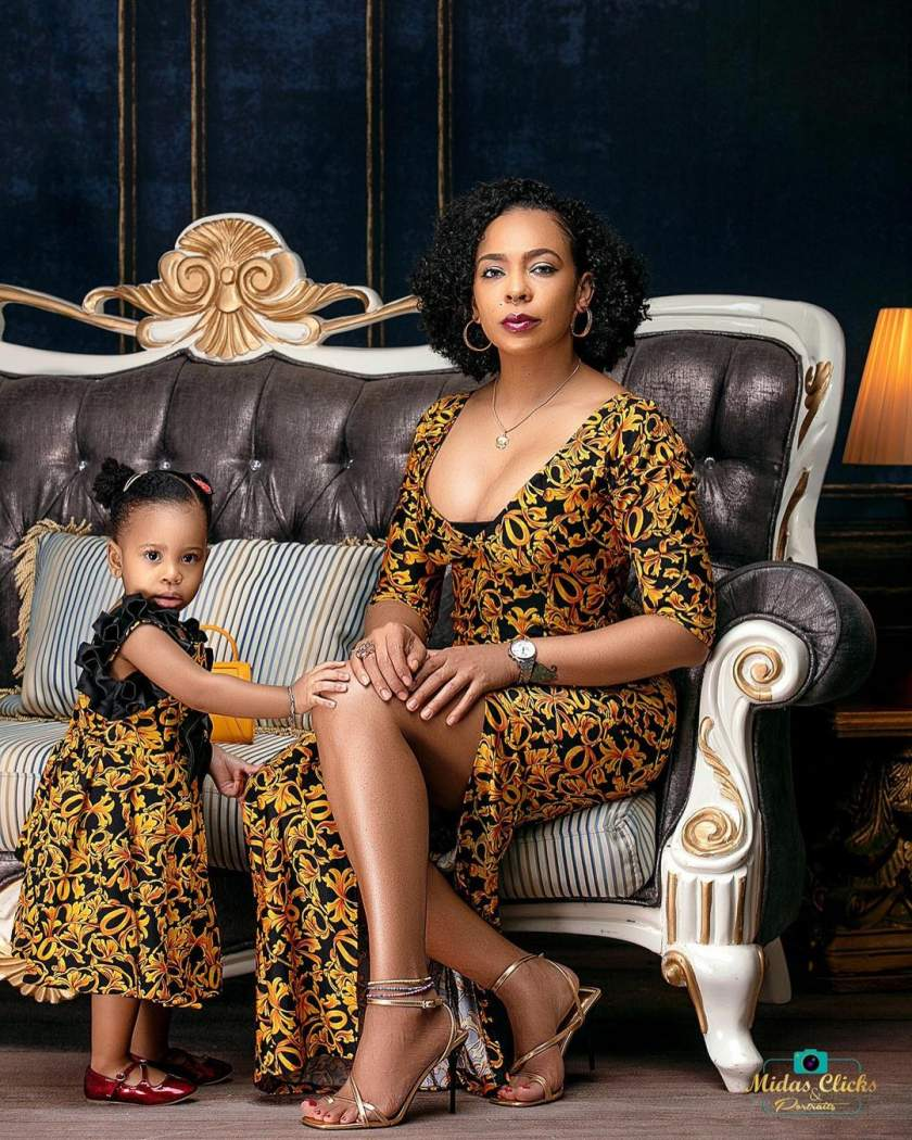 These Photos of TBoss Twinning with Her Daughter Starr Will Make Your Heart Smile
