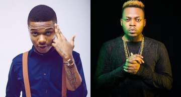 """Na My Jam Be That""- Wizkid Compliments Olamide's Wo! Song"