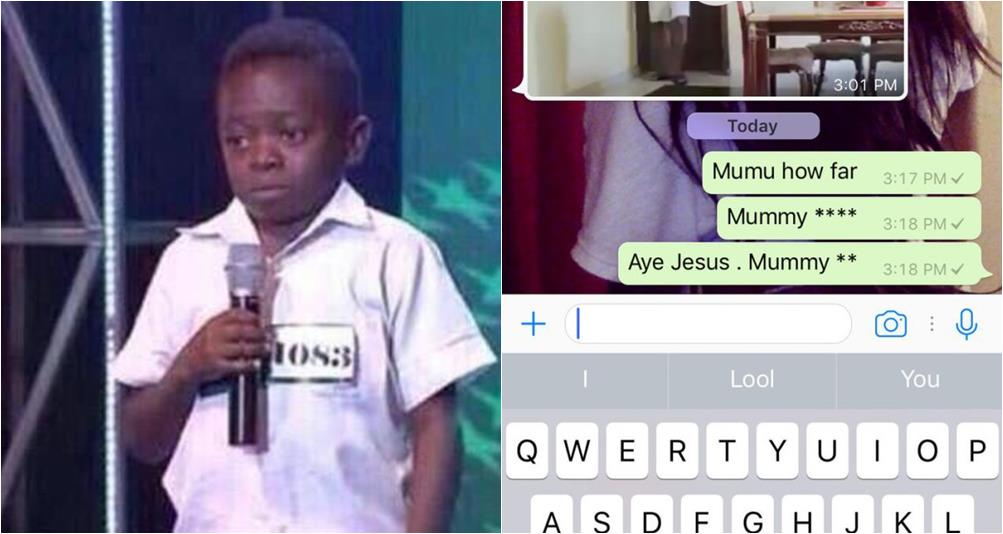 Nigeria Guy laments on how auto-correct made him Insult his Mother on Whatsapp