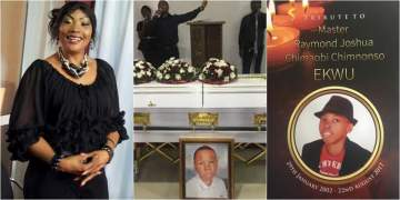 """""""Thank you Raymond for giving me the opportunity to be called Mother""""- Actress Eucharia Pays Tribute To Her Son"""