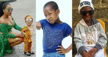 Toyin Lawani Slams Fan For Saying Her Son Has No Talent Like Segun Wire Or Emmanuella