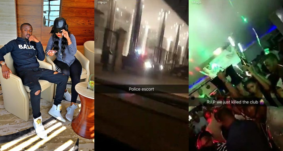Lagos Policeman Rescues Vera Sidika From Being Beaten By Thugs Allegedly Sent By Her Ex, Yomi