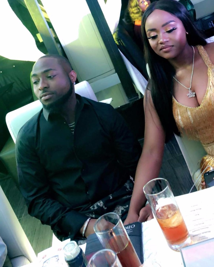 Davido And Chioma 1
