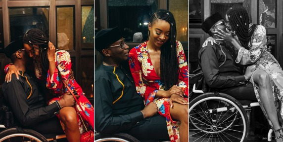 Gbenga Daniel's physically challenged son's fiancée, Natasha Morisson, reveals how she fell in love with him