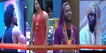 #BBNaija: Alex transforms the male housemates and it's hilarious (Video)