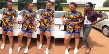 Beautiful New Photos Of Nollywood Actress, Regina Daniels At Igbinedion University