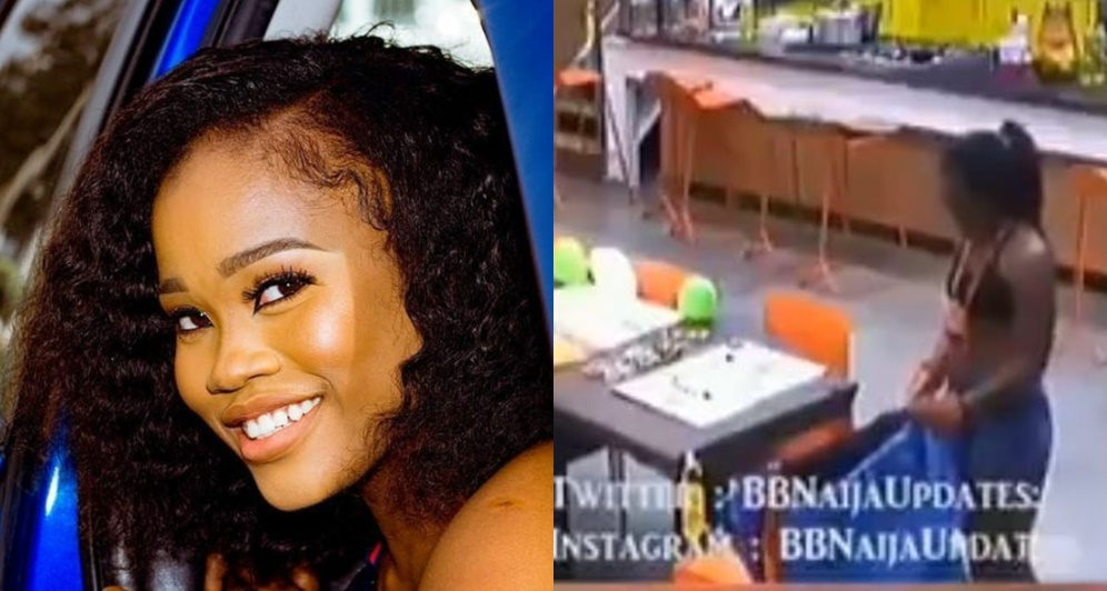 See The Moment Cee-C Ripped Her Payporte Outfit (Video)