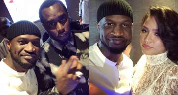 Peter Okoye Hangs Out With Diddy And Cassie In Abu Dhabi (Photos/Video)