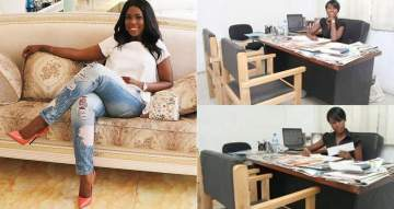 #LazyNigerianYouth: Linda Ikeji Reacts To Buhari's Comment With Throwback Photos