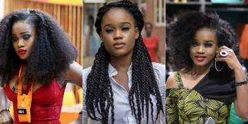 #BBNaija 2018: Cee-c threatens to go naked, lay a curse on her landlord'