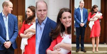 Kate Middleton Steps Out with New Royal Baby 7 Hours After Giving Birth