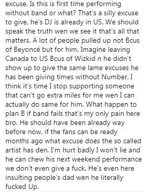 Wizkid Insults Fan Reacts