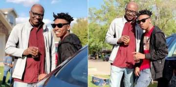 Two years after, Mayorkun reunites with his father at his show in Dallas.