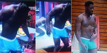 "BBNaija: Is Tobi's eggplant the reason some female housemates want to ""die there"" (photos)"