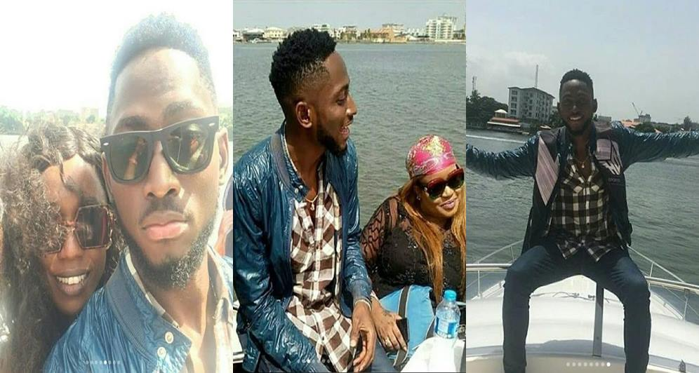#BBNaija: Miracle Goes On Boat Cruise With His 10 Loyal Fans In Lagos (Photos)