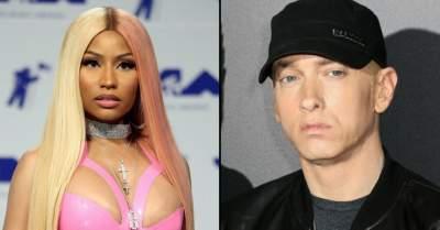 Nicki Minaj confirms she's in a relationship with Eminem...