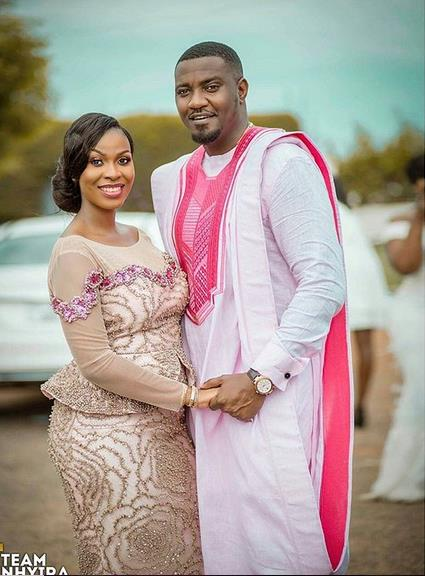 John Dumelo And Wife Tile