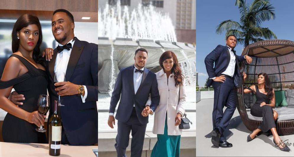 Nollywood actor, Michael Okon set to wed, releases pre-wedding photos