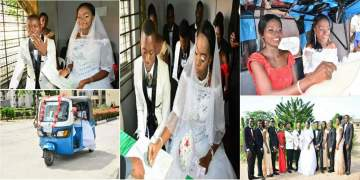 Ex-Keke Driver Who Met His Wife On Duty Gets Married In Style (Photos)