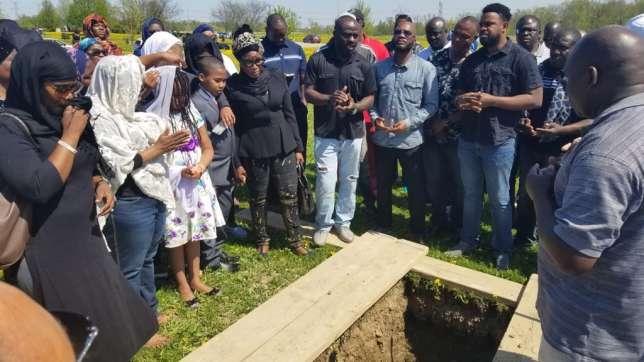 Burial Ceremony Of Aisha Abimbola 1
