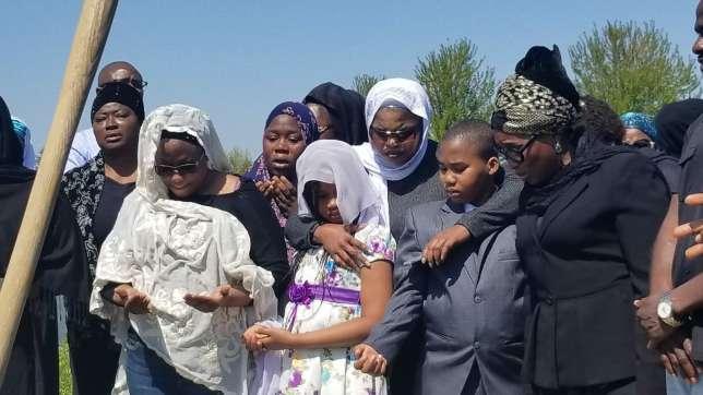 Burial Ceremony Of Aisha Abimbola 3