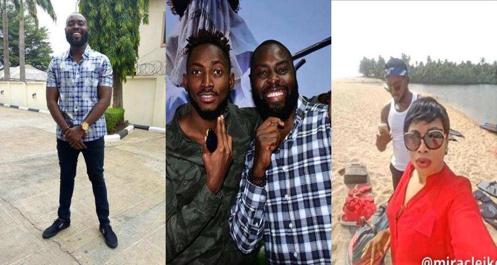 #BBNaija: Miracle's brother reacts to claim the reality star has a sugar mummy called Juliet (video)