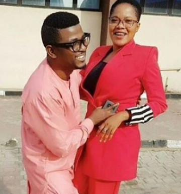 Actress, Toyin Abraham asks her publicist, Samuel Olatunji to walk her down the aisle on her wedding day