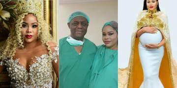 Femi Fani-Kayode & his wife welcome triplets on her birthday