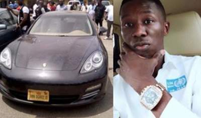 'Hacking into Nigerian banks is very easy' - medical doctor who bought N28m Porsche car says after arrest