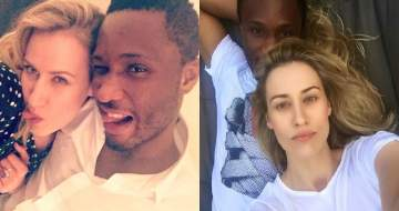 Mikel Obi's Russian wife, Olga Diyachenko, reacts to Super Eagles' loss to Croatia