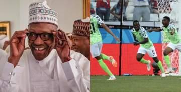 President Buhari congratulates Super Eagles over Iceland victory