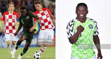 World Cup 2018: Etebo Replies A Fan Who Said He Played Rubbish Against Croatia