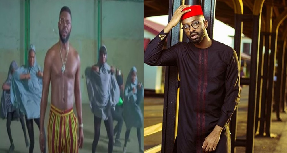Check Out Ric Hassani's hilarious reaction to the drama between Falz & MURIC over his 'This is Nigeria' video