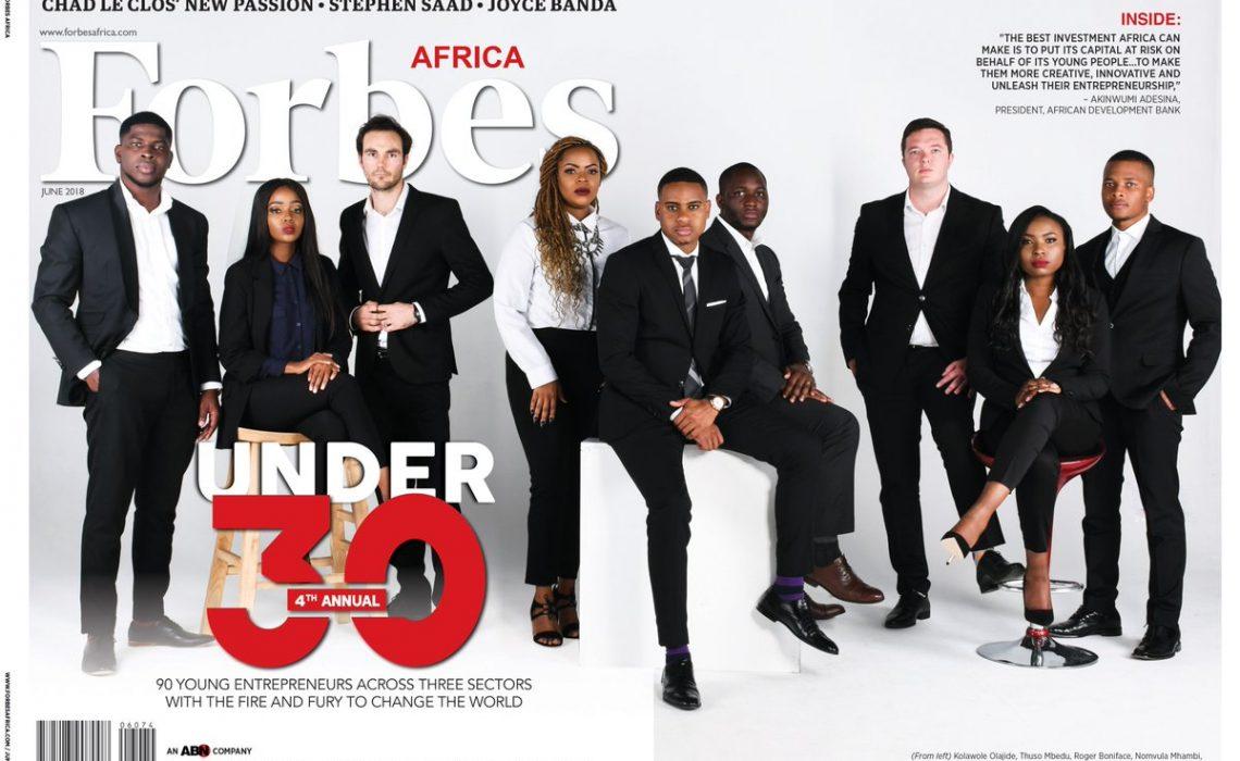 Forbes Africa 30 Under 30 2018 1