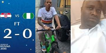 Tekno, Yemi Alade, Other Nigerian Celebrities React To Nigeria's Loss To Croatia