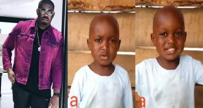 Don Jazzy donates 500k to send 5-year old Taju in viral video to school