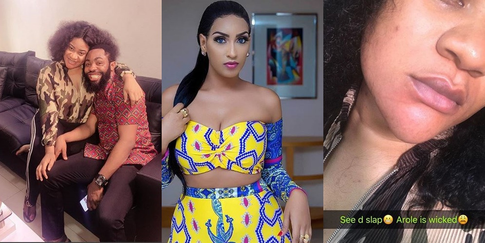 Drama As Comedian Arole Gives Actress Nkechi Blessing a 'Hot Slap' That Made Her Call Juliet Ibrahim An 'Idiot' (Video)