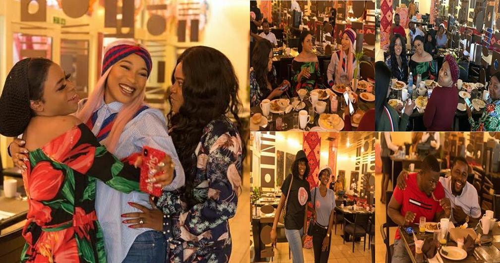More photos from Tonto Dikeh's birthday breakfast (Photos+Video)