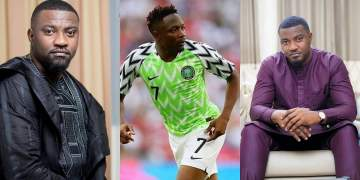 #Russia2018: 'My New Name Is Chibuike' - John Dumelo Says, Nigerians React