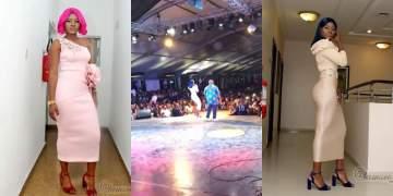 #BBNaija: Alex co-host 'ElevatedConcertPH18', watch her show off her dancing skills (Video)