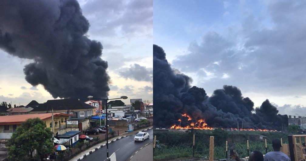 Fire Outbreak In Lagos 1 Tile