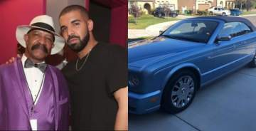 Drake Surprises Dad With $100k Bentley For Father's Day