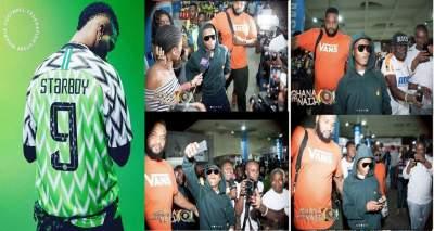 "The Moment Wizkid Arrived Ghana For ""Ghana Meets Naija 2018 Event"" (Photos)"