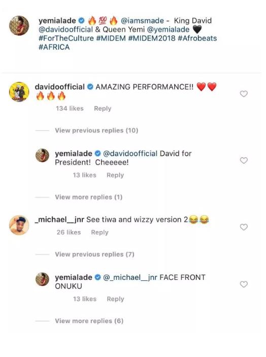 Yemi Alade Replies Troll
