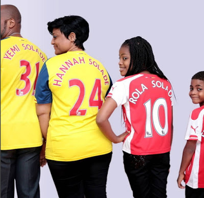Yemi Solade Family Pictures